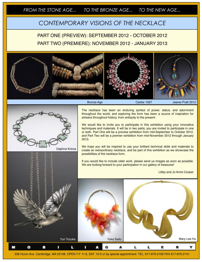 necklace 2012 prospectus